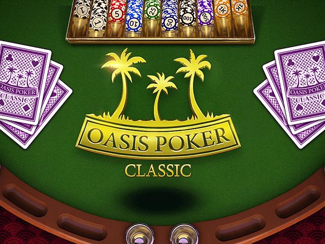 Играть в игру Оазис Покер на официальном сайте Вулкана