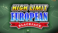 Блэкджек High Limit European Blackjack